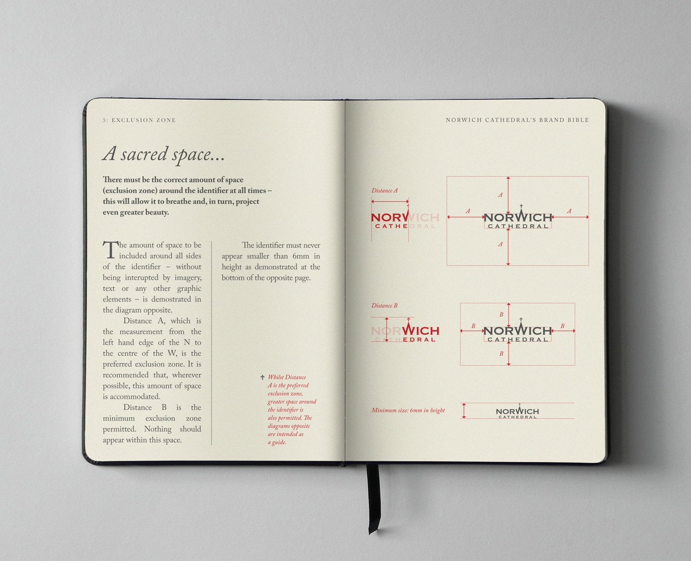 Norwich Cathedral brand guidelines