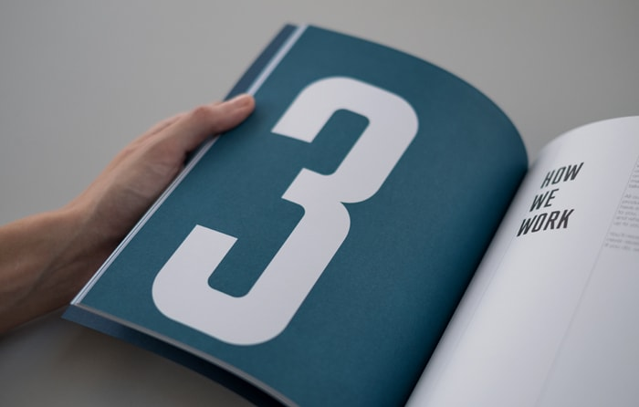 Chapter header of book design for Computer Service Centre.