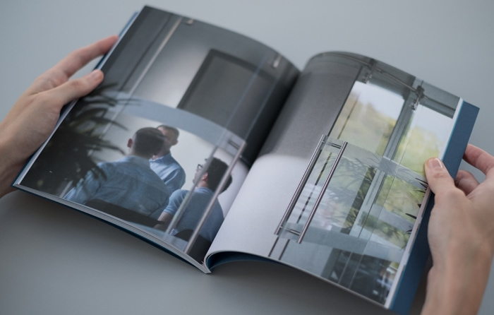 Photography in book design for Computer Service Centre.