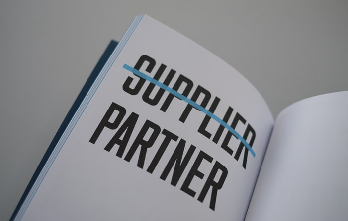 Double page spread in book design for Computer Service Centre.