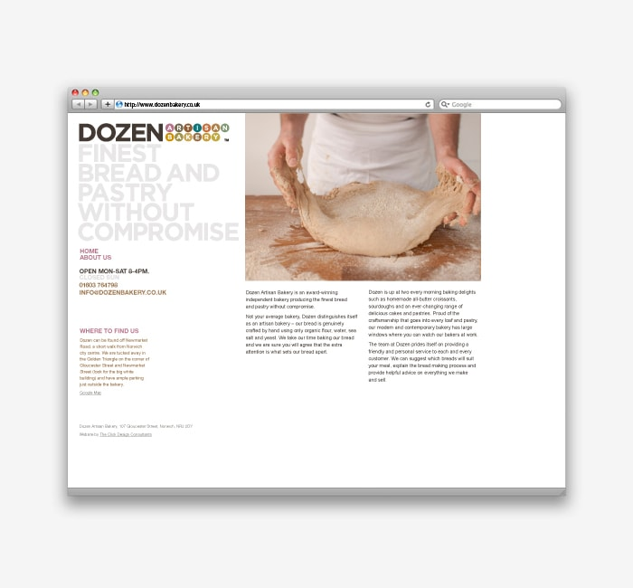 Dozen-Website