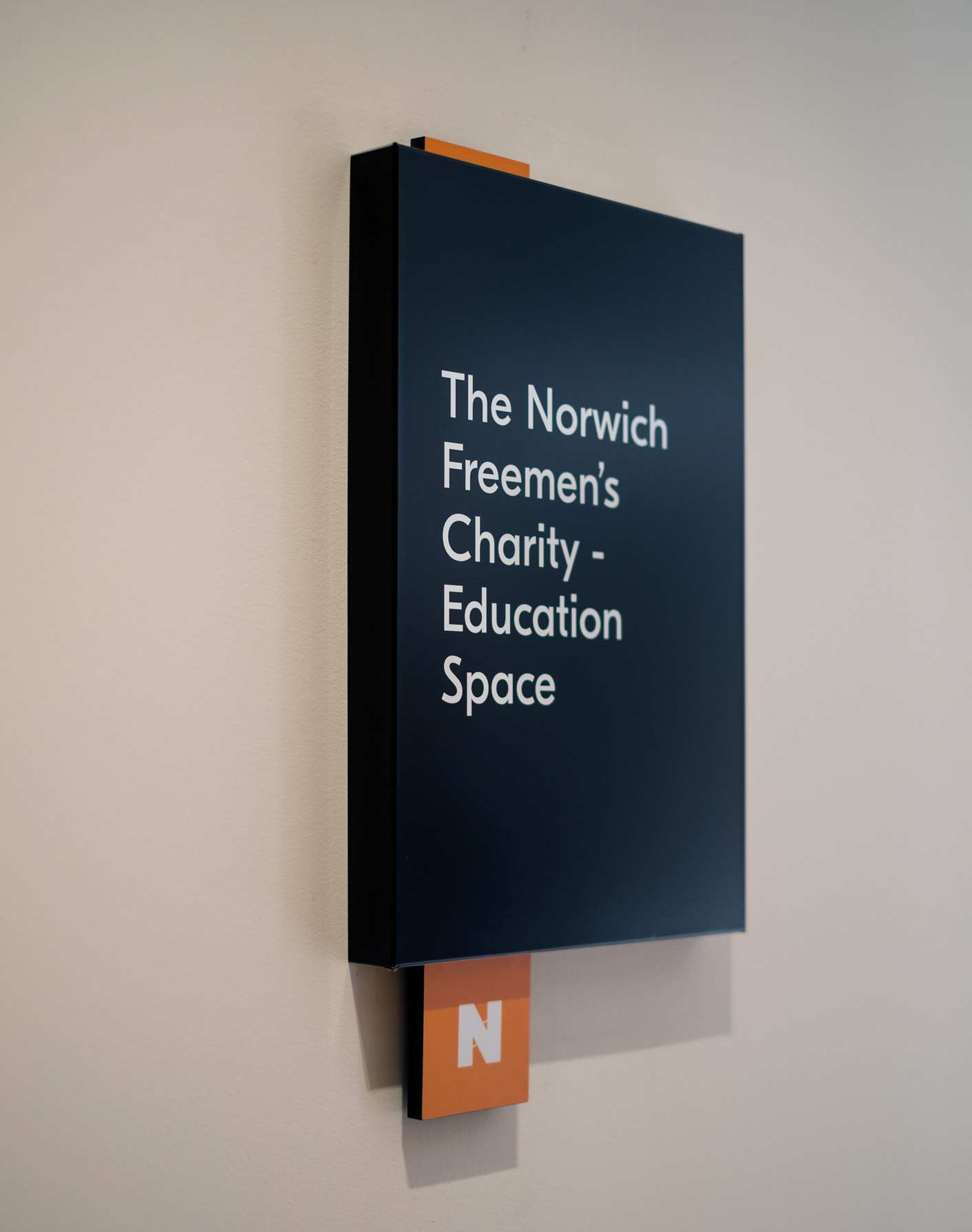 National Centre for Writing signage