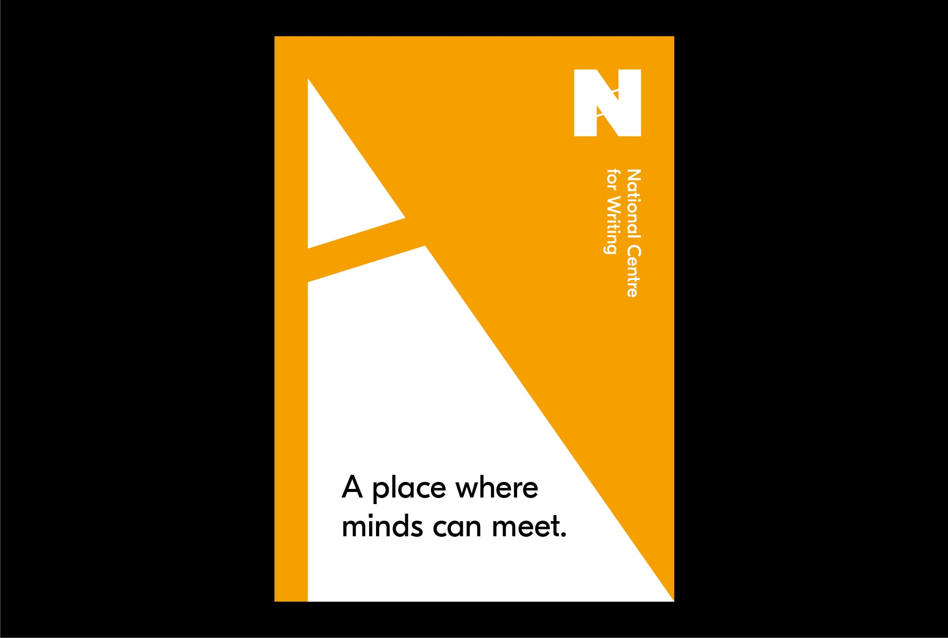 National Centre for Writing poster