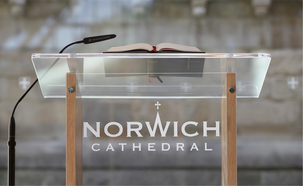 Norwich Cathedral brand identity