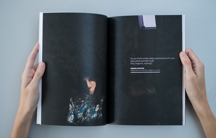 Photography in a book for International Literature Showcase.