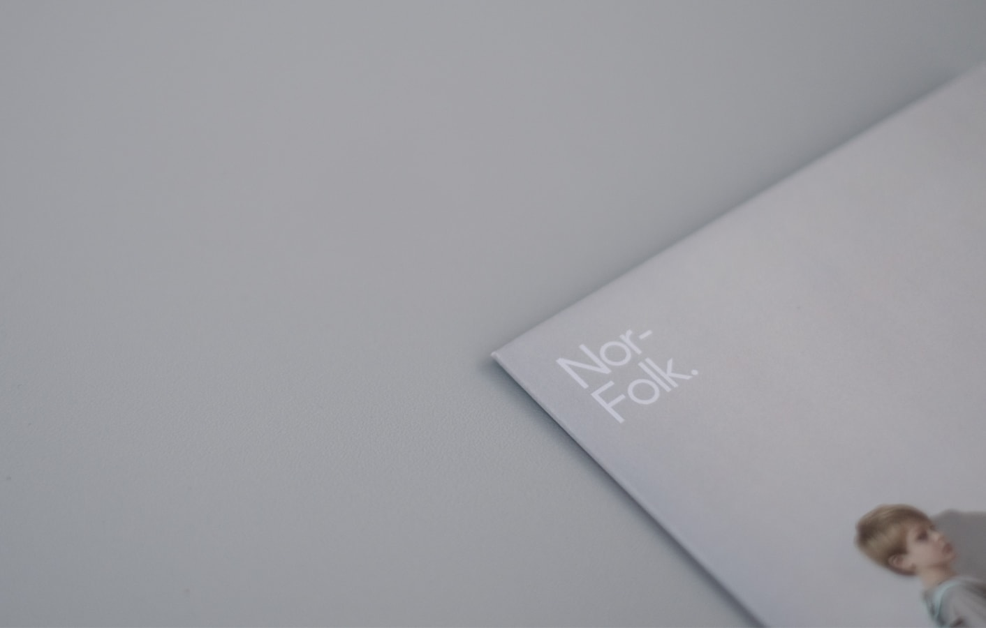 Pinted brochure detail for Nor–Folk.
