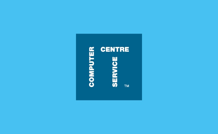 A brand identity for an IT company called Computer Service Centre.