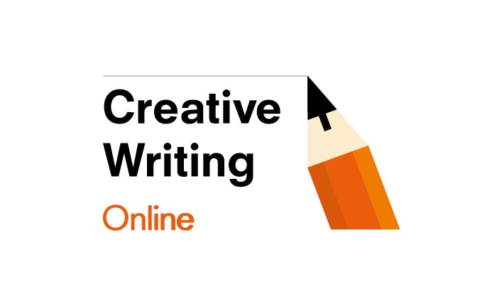 A brand identity for a series of online courses for creative writing.
