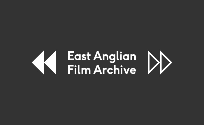 Brand identity for a not for profit research and public access resource called East Anglian Film Archive.