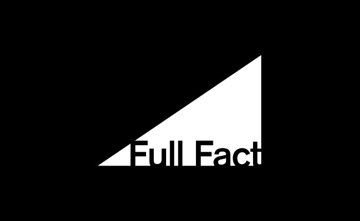 A brand identity for the UK's leading fact-checking organisation called Full Fact.