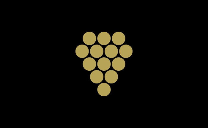 A brand identity for an independent wine merchant called HarperWells.