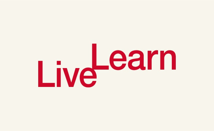 An identity for a recruitment campaign for University of East Anglia (UEA), titled Live Learn.