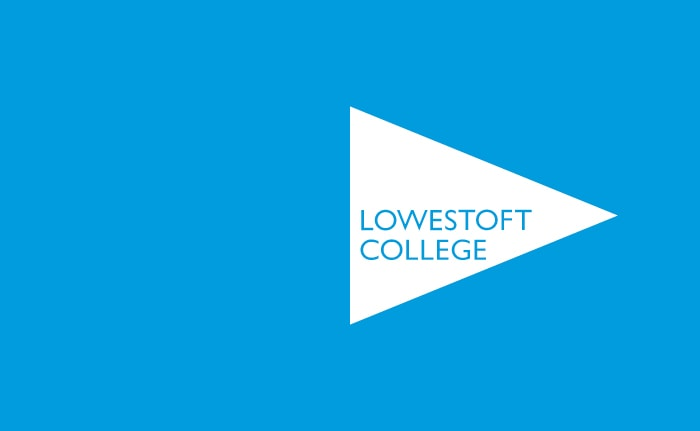 A brand identity for a college based in the UK's most easterly town, Lowestoft.