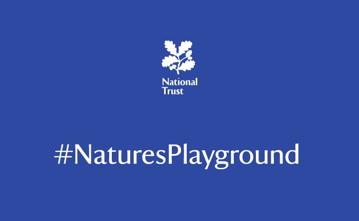 Nature's Playground – a campaign identity for a UK conservation charity, the National Trust.