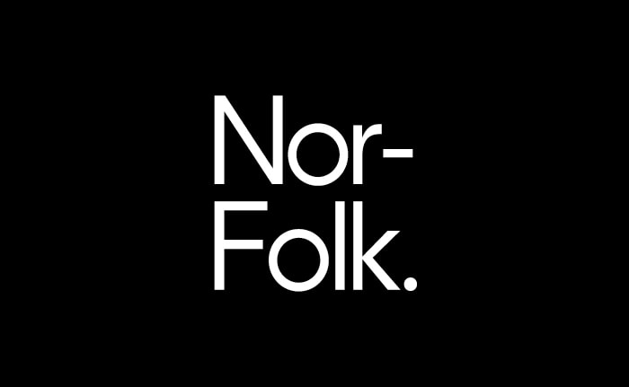 An identity for a A design-led lifestyle brand, founded in Norfolk, UK.