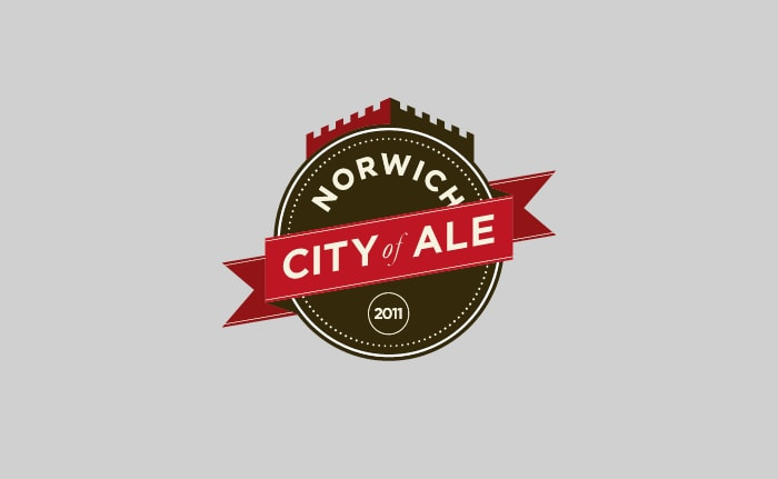 A brand identity for an annual beer festival, founded in 2011 and hosted in Norwich, called City of Ale.