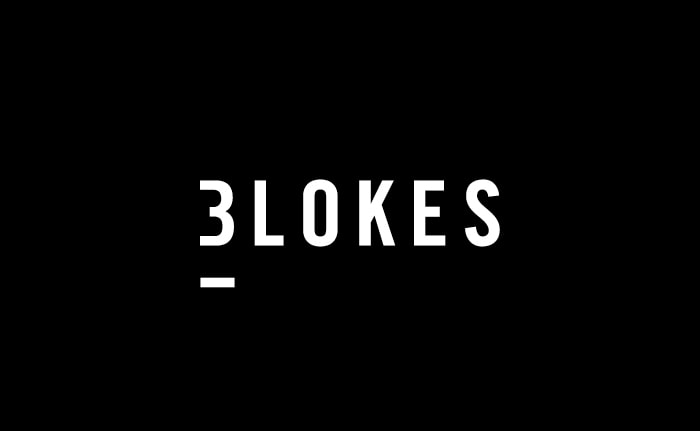 A brand identity for a pub and restaurant chain, owned and managed by three male proprietors called Three Blokes.