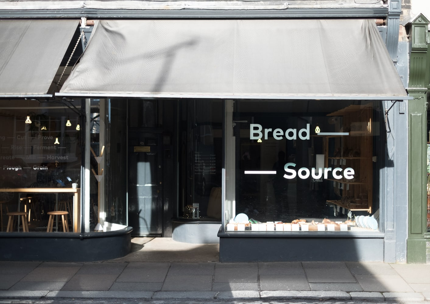 Bread Source artisan bakery shop front