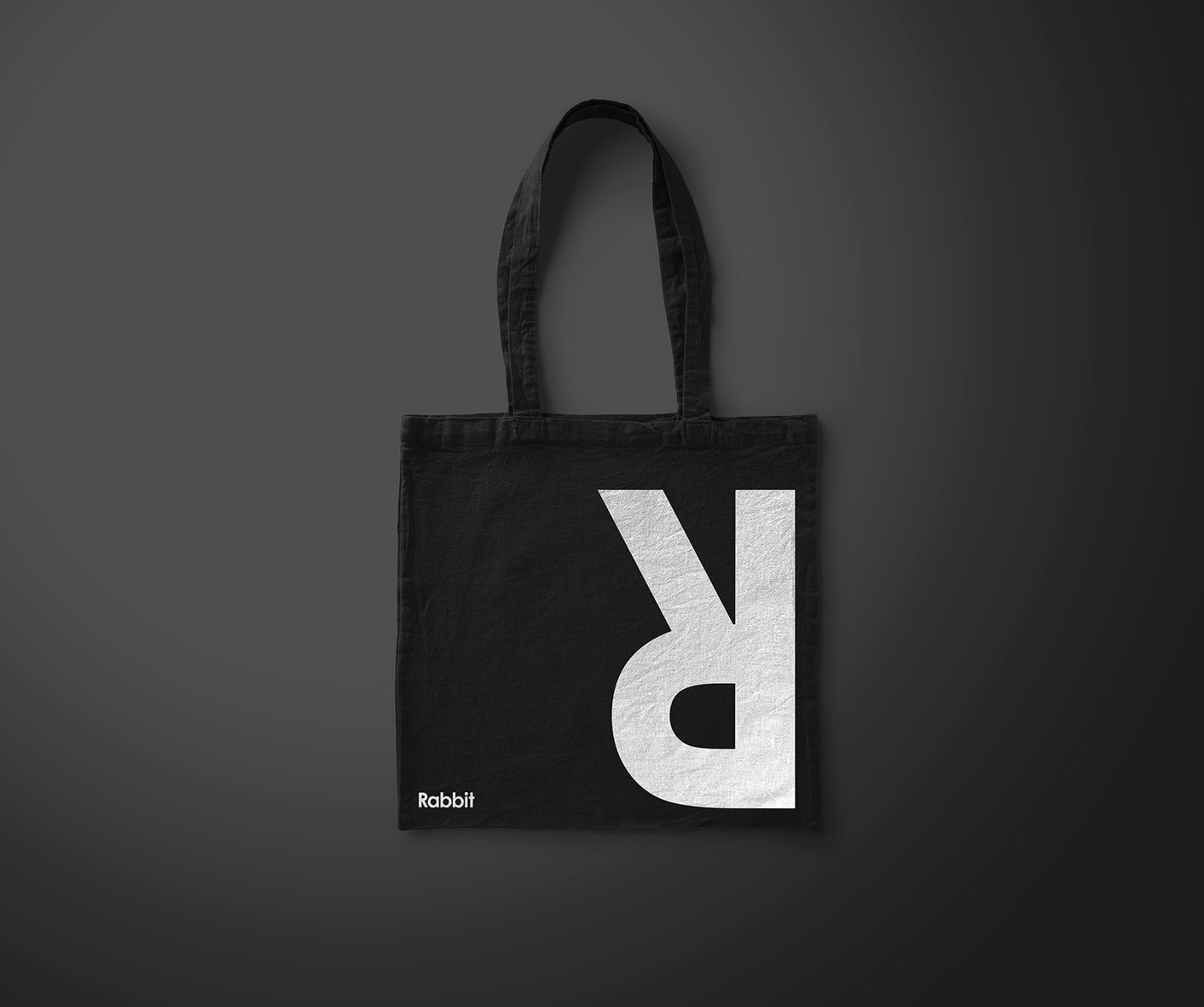 Rabbit Coffee branded tote bag