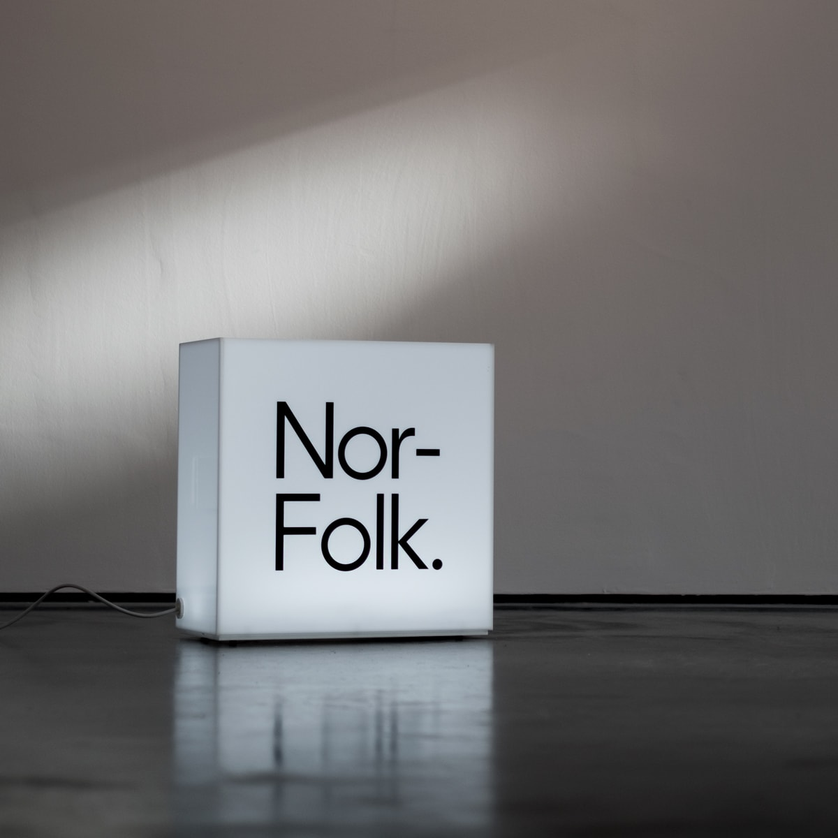 Brand design for Nor–Folk by The Click