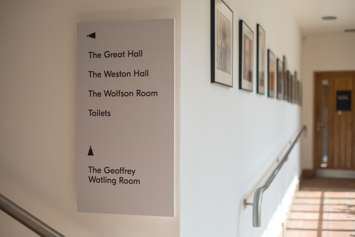 National Centre for Writing wayfinding sign