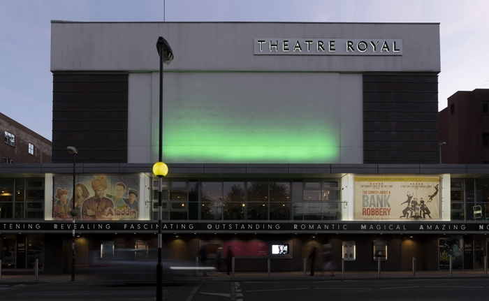 Norwich Theatre Royal Signage