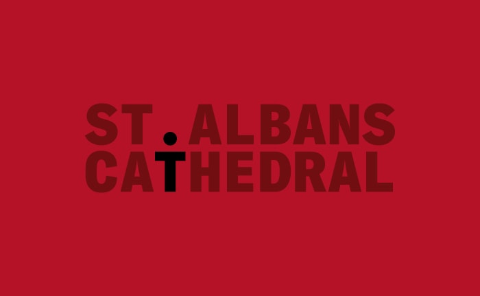 St Albans Cathedral branding