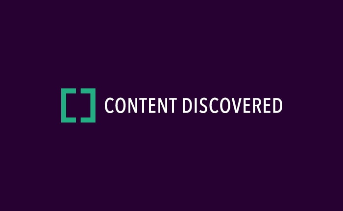 Content Discovered branding