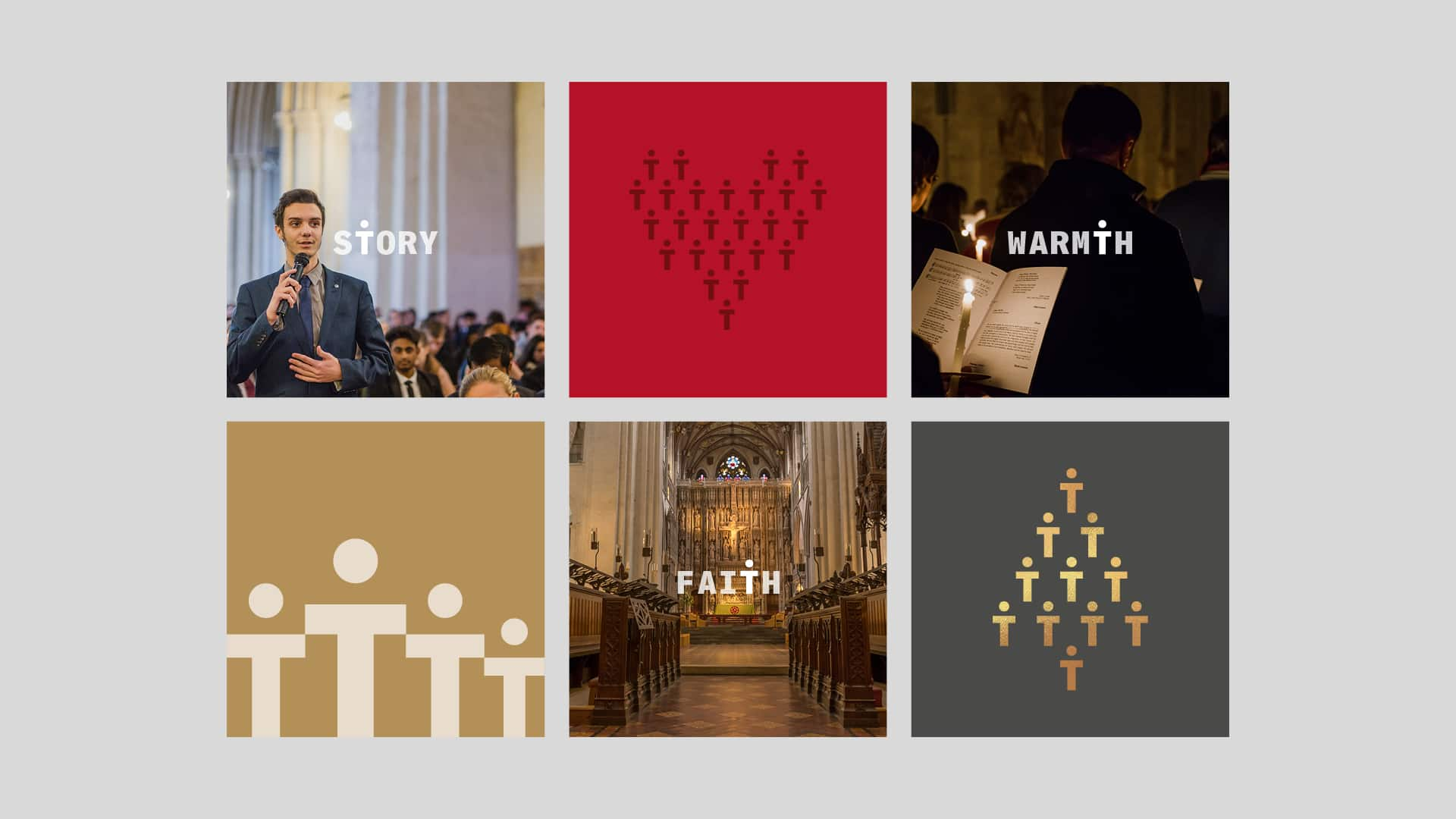 St Albans Cathedral social media graphics