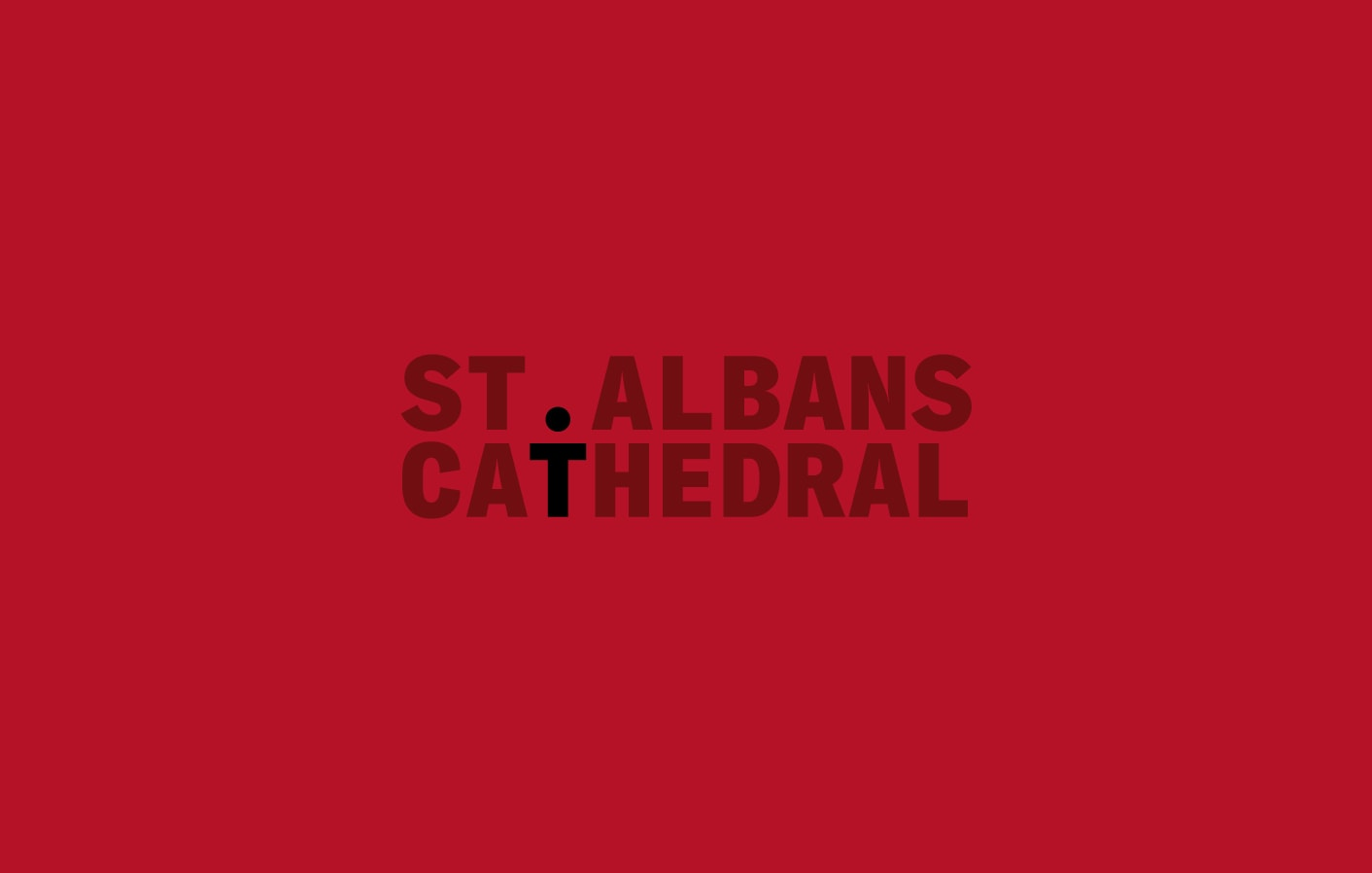 St Albans Cathedral brand identity