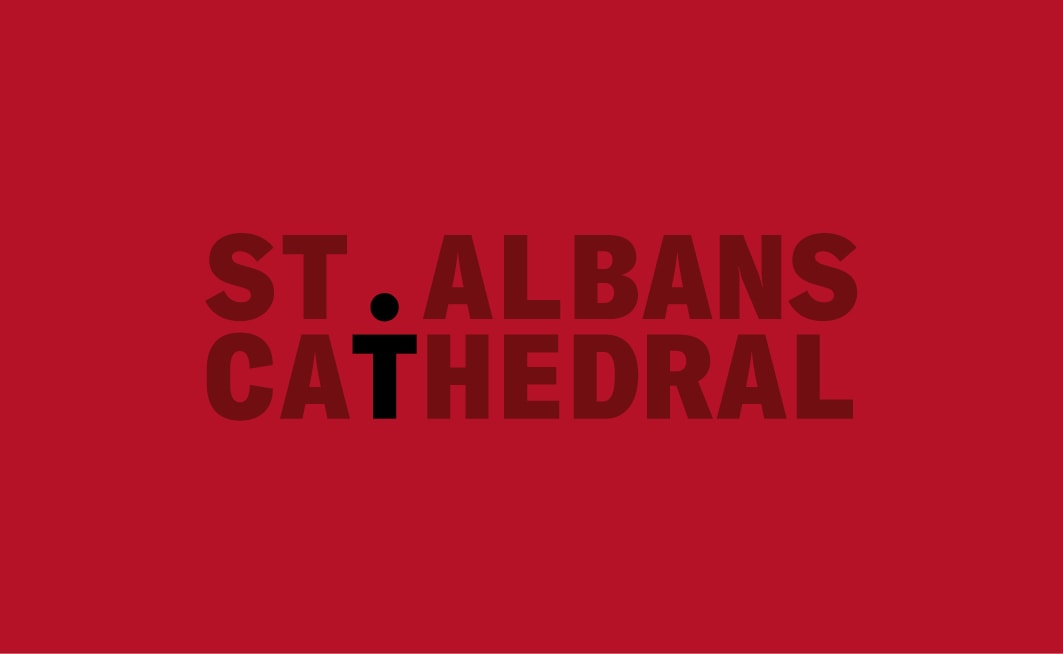 St Albans Cathedral brand identity by The Click – a branding agency in Norwich
