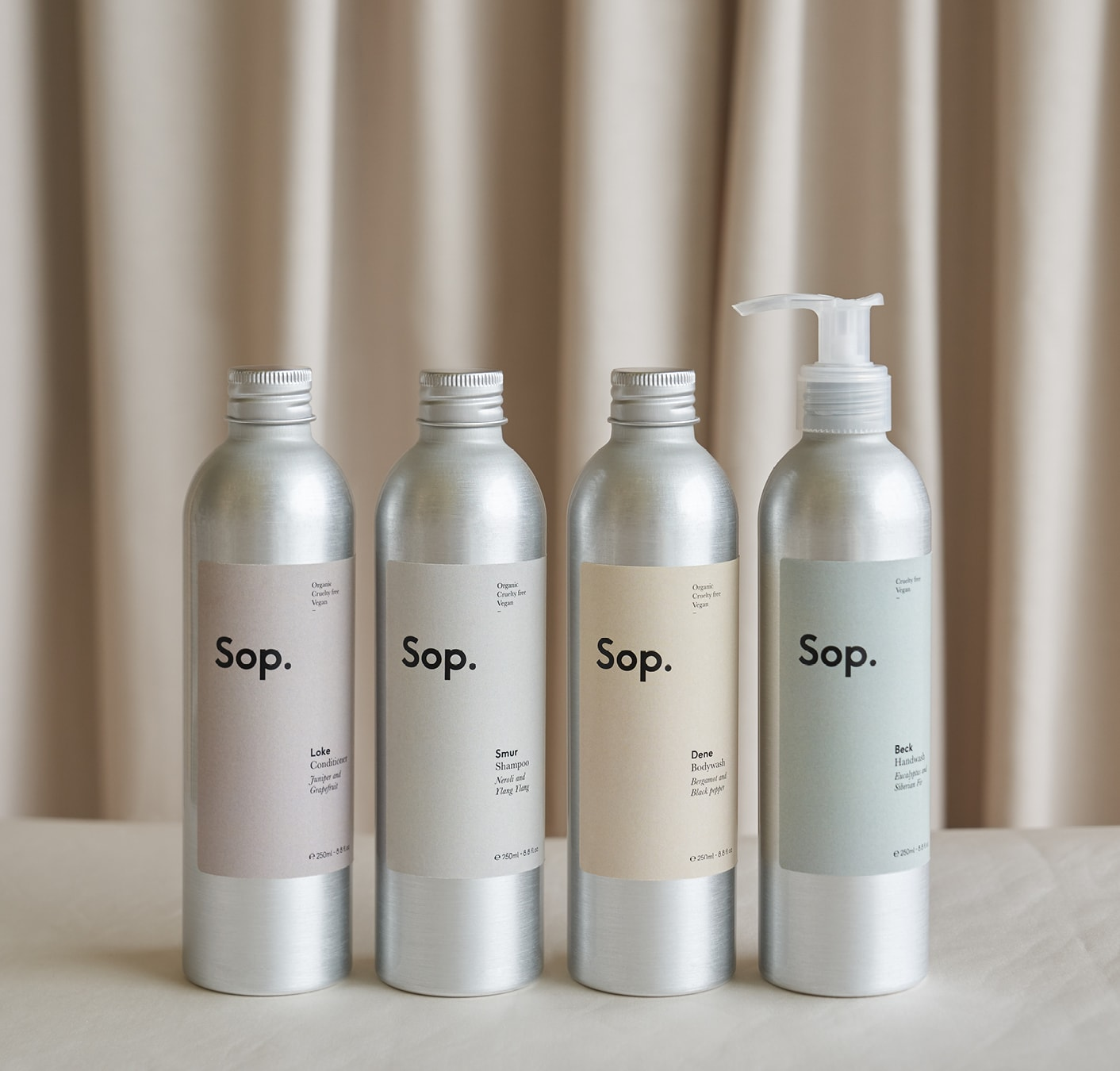 Sop ~ Scents of place 250ml bottles