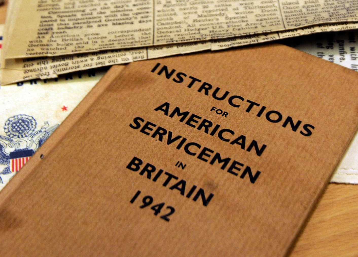 American Servicemen book from American Library