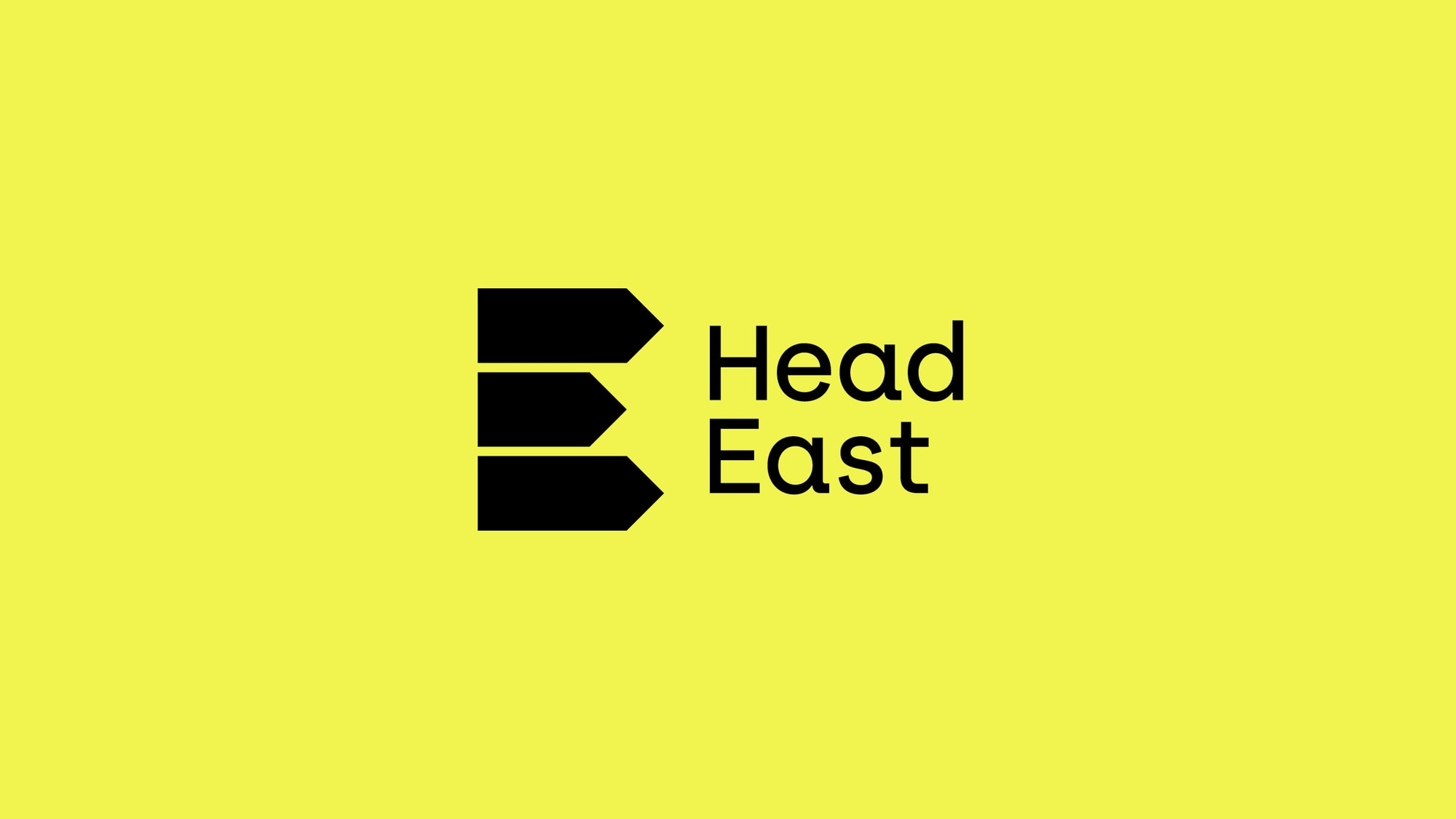 Head East brand identity by The Click