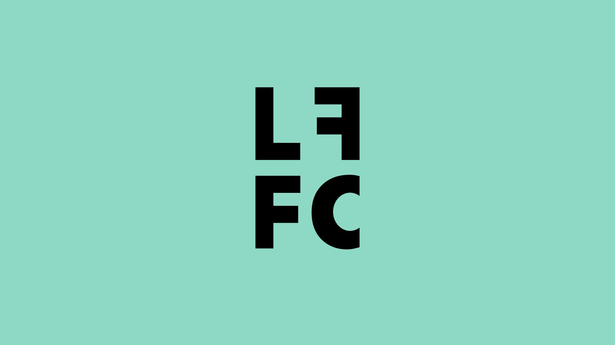 Left Field Football Collective brand identity by The Click