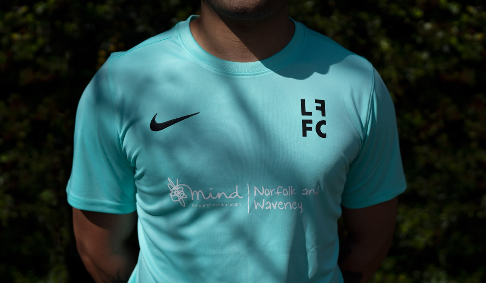 Left Field Football Collective branding by The Click